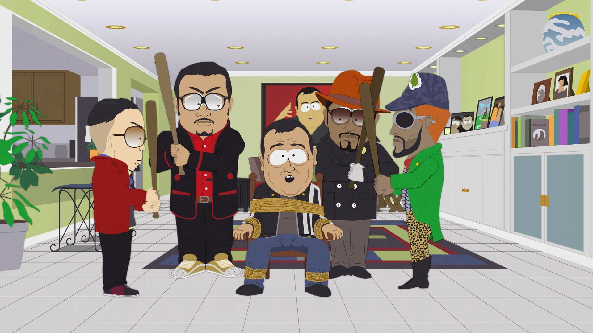 This is what celebrities had to say about being made fun for Fish sticks south park