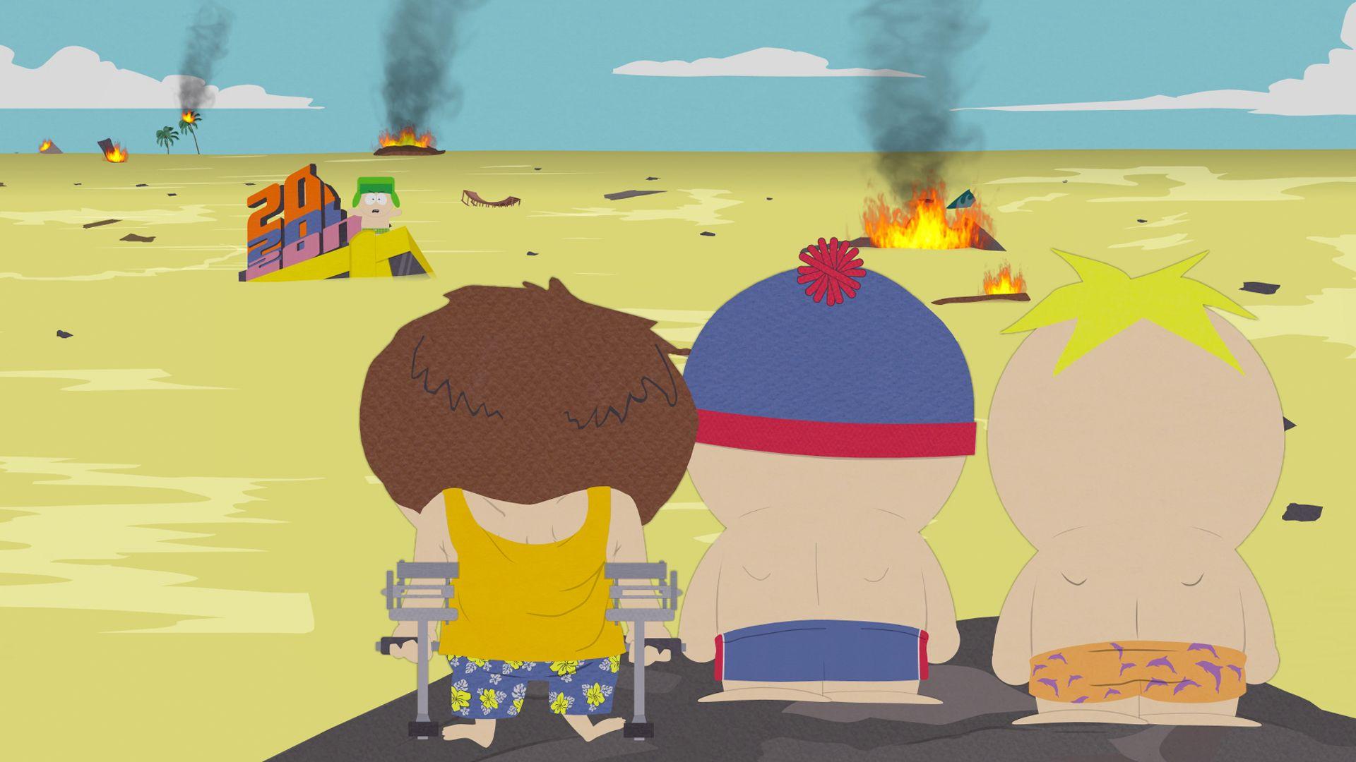 Légende urbaine   pipi dans la piscine endommage la santé? South-park-s13e14c07-you-gotta-swim-16x9