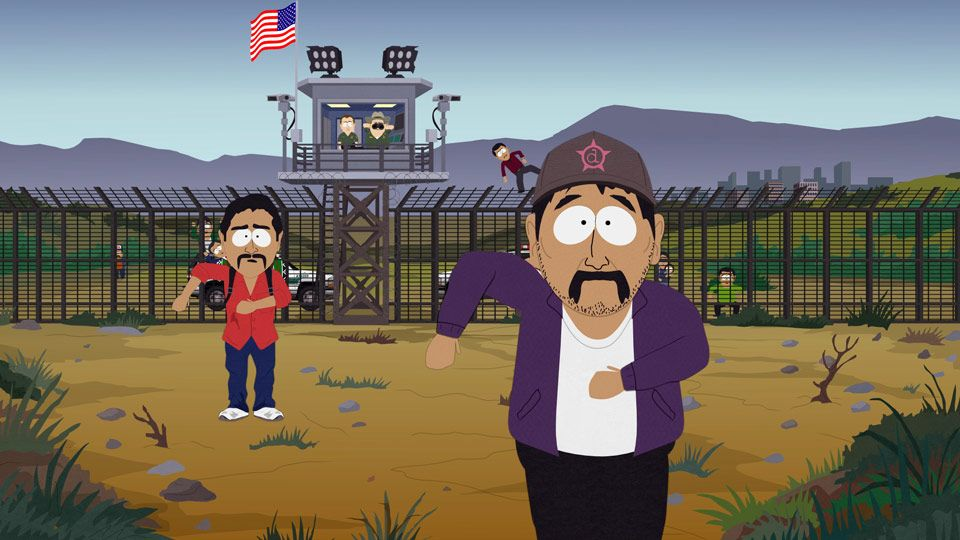 south park mexican essay clip A great episode of south park once again, mr/mrs garrison decides that she is a lesbian, going from a straight man, to a homosexual man, to a straight woman, garrison has got to the sexual preference of lesbian.