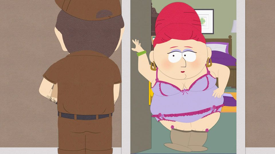 Apologise, South park mrs garrison nude