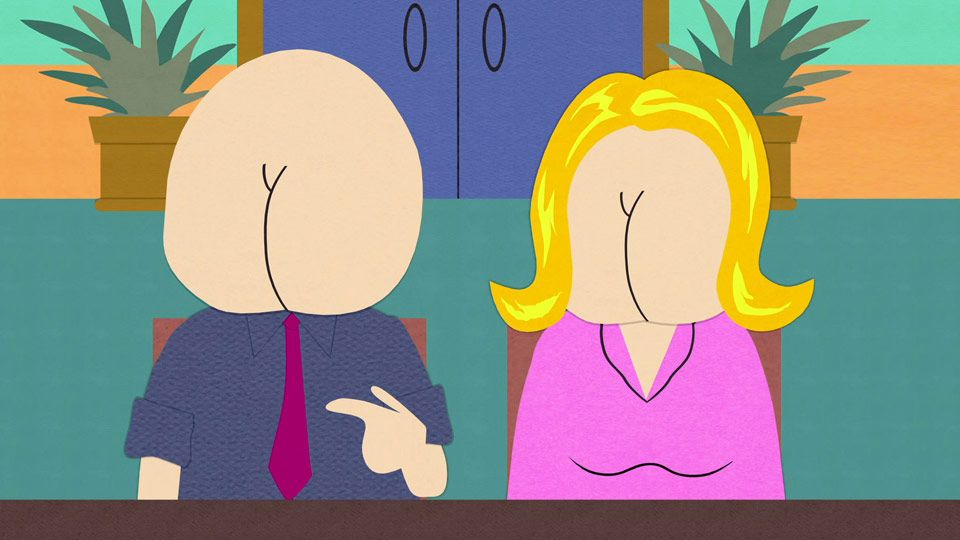South Park Butt Faces 50