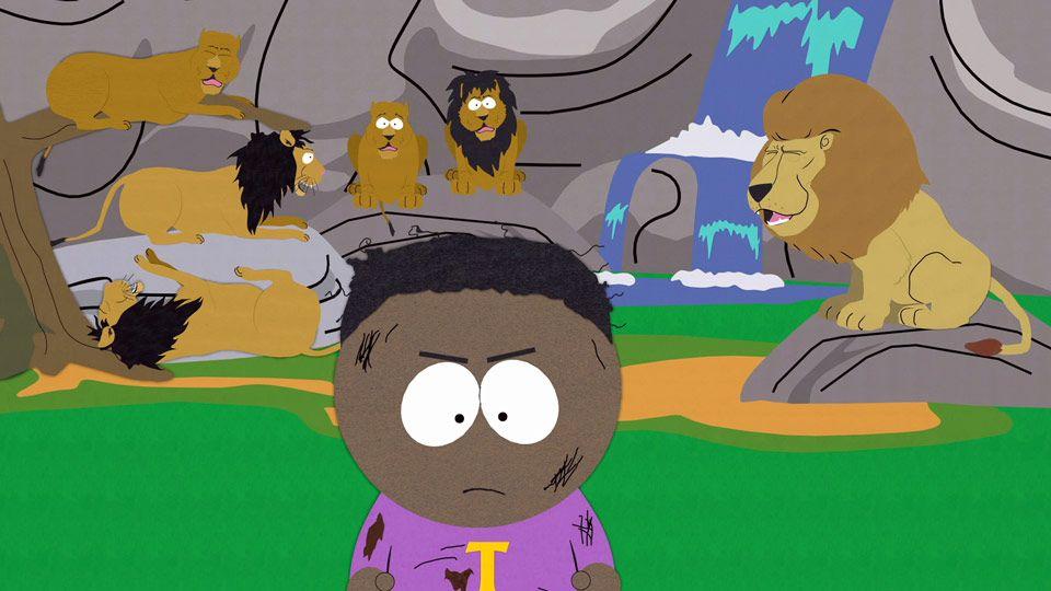 Aslan The Lion South Park