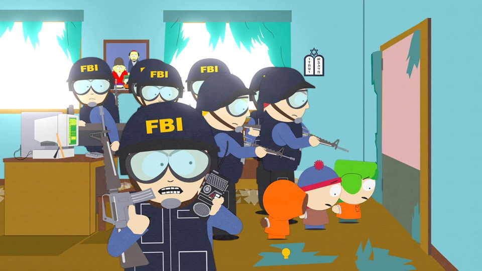FBI - Video Clips - South Park Studios Netherlands
