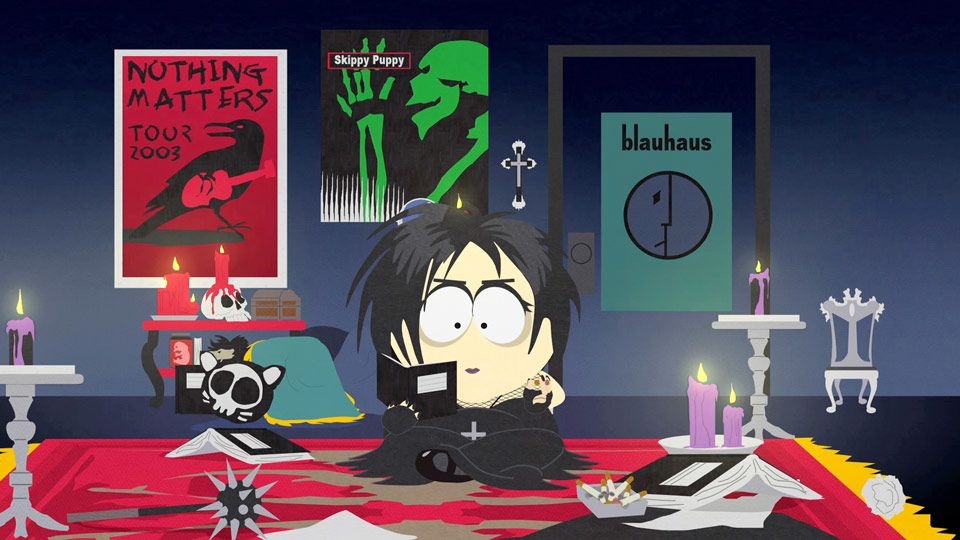 Goth StanGoth Stan South Park
