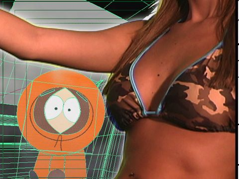 South Park: Major Boobage: Kenny's Hot Chick with Commentary.
