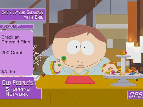 South Park: The Ring: Eric's Jewelry Calvacade