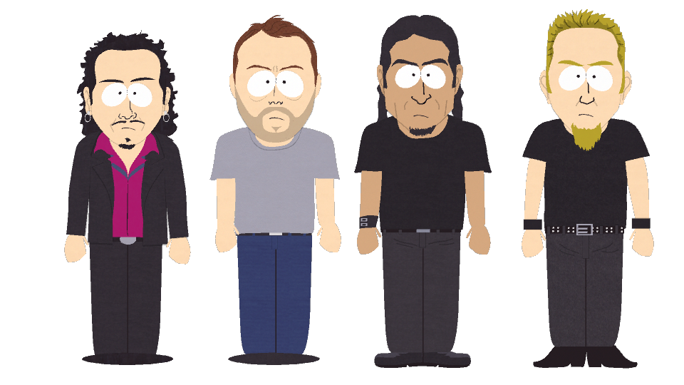 Metallica - Official South Park Studios Wiki | South Park ...