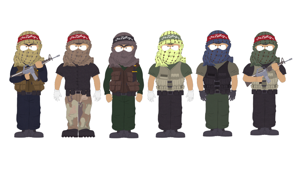 Terrorists - Official South Park Studios Wiki | South Park ...