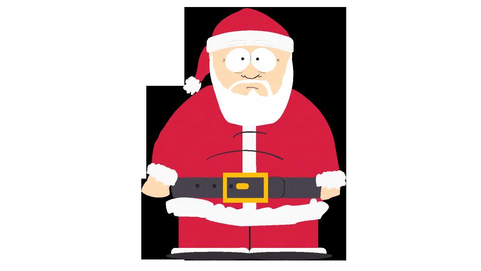Santa claus official south park studios wiki