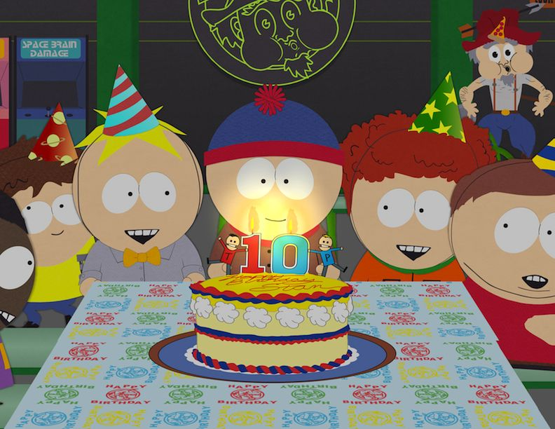 Happy Birthday South Park