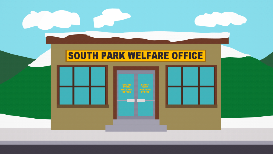 South Park Welfare Office - Official South Park Studios Wiki | South