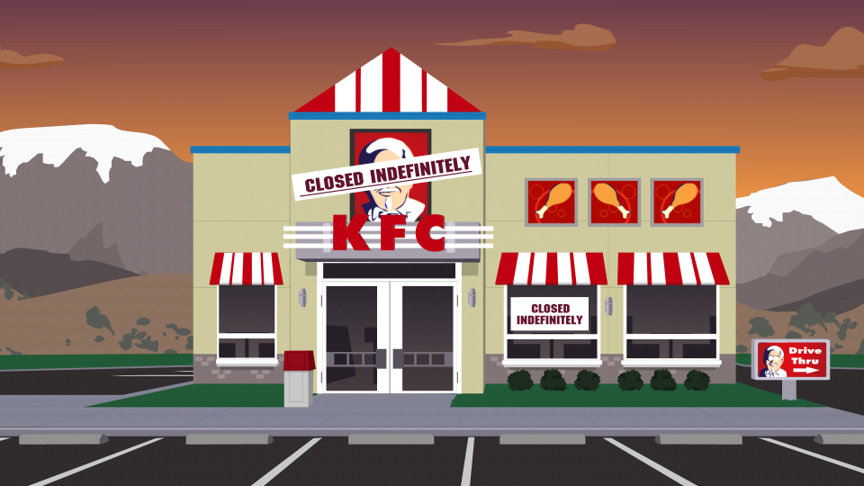 Kentucky Fried Chicken Kfc Official South Park Studios