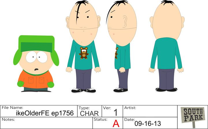 Ike Broflovski South Park Character Location User Talk Etc Official South Park Studios Wiki