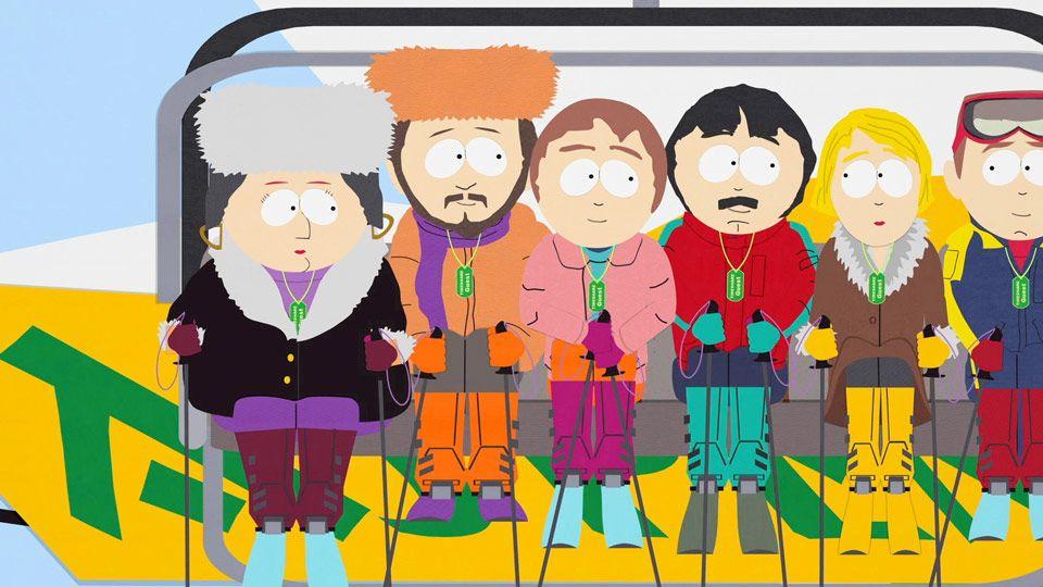 Exclusive Passes - Video Clip | South Park Studios Nordics