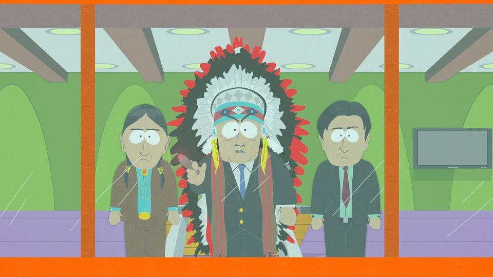 $10,000, 31 Black - Video Clip | South Park Studios