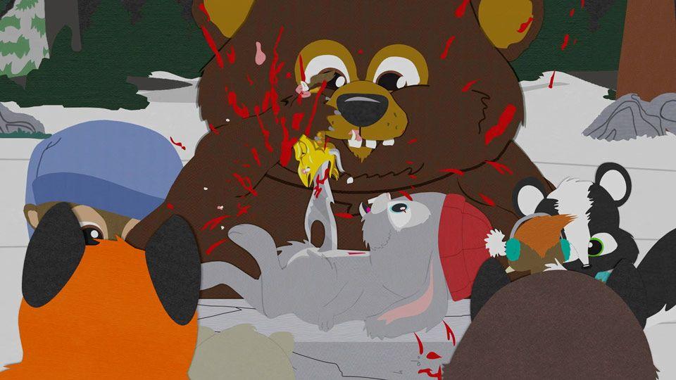 South Park Woodland Critter Christmas.Blood Orgy Video Clip South Park Studios Uk Ireland
