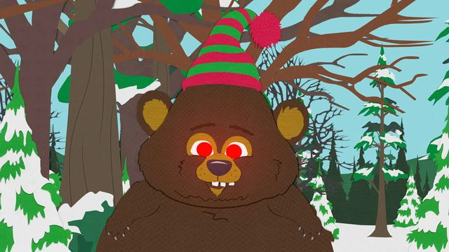 South Park Woodland Critter Christmas.The Critters Attack Stan Video Clip South Park Studios