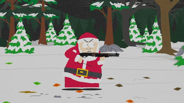 South Park Woodland Critter Christmas.The Antichrist Is Born Video Clip South Park Studios Uk
