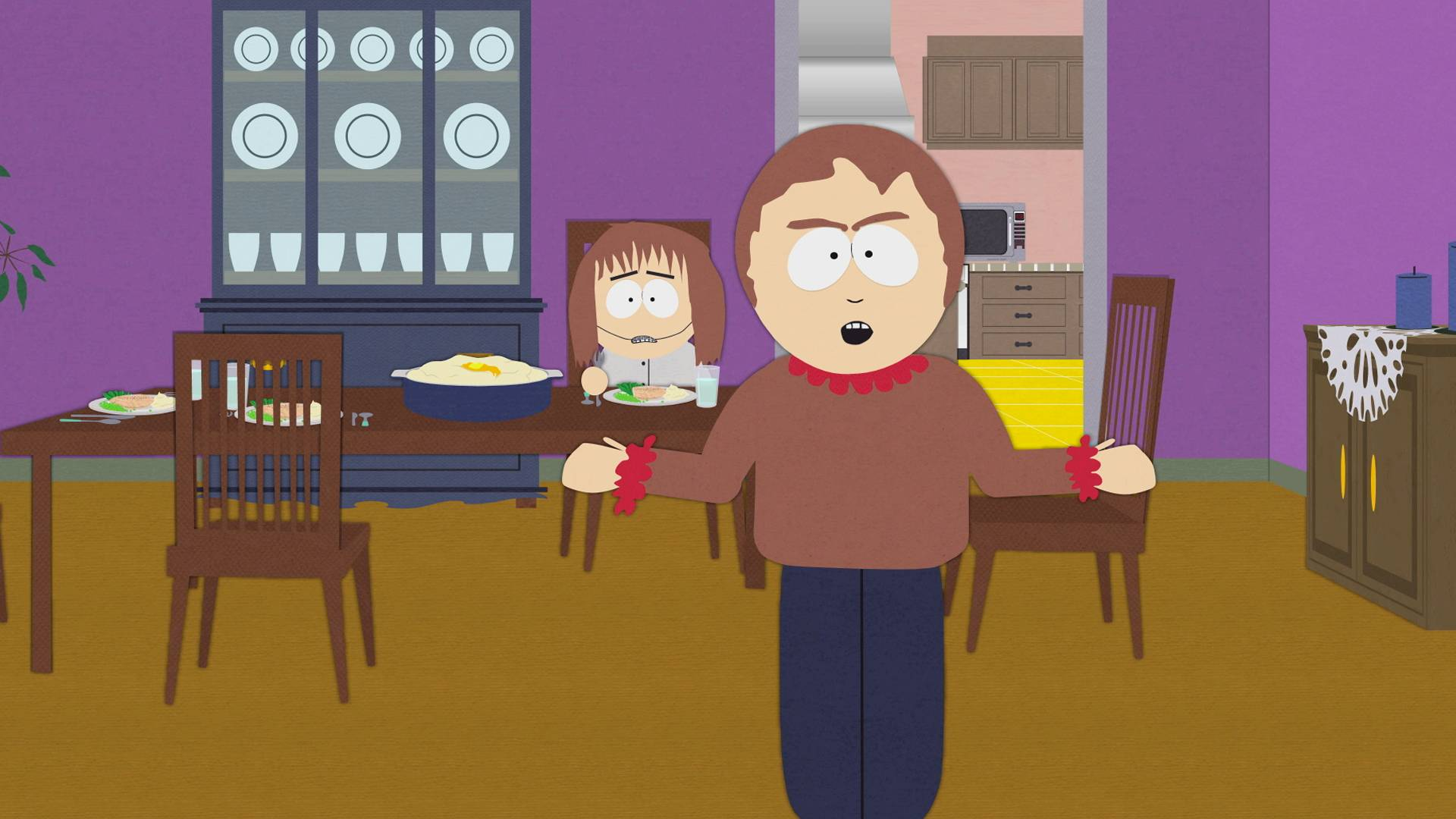 Trying To Have A Nice Dinner South Park Video Clip South Park Studios Us